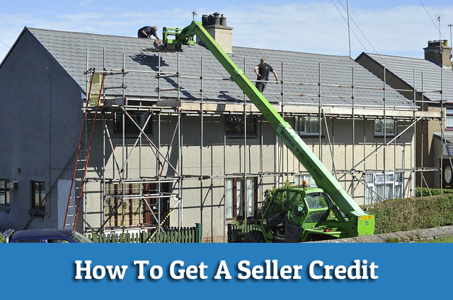 how to get a seller credit