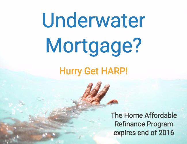Underwater Mortgage Refinance Soon Harp Expires End Of