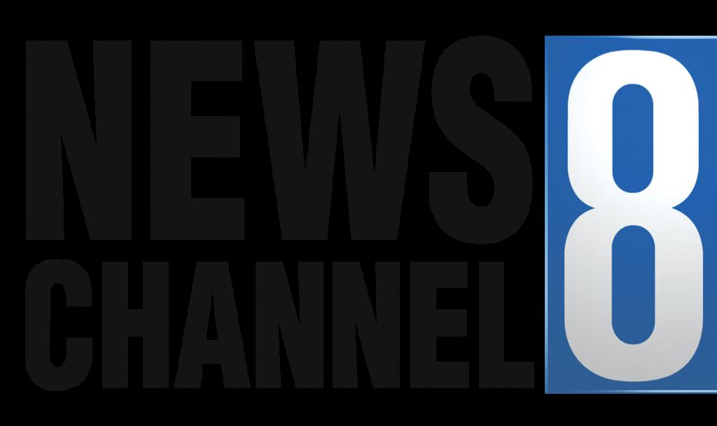 News Channel 8 logo